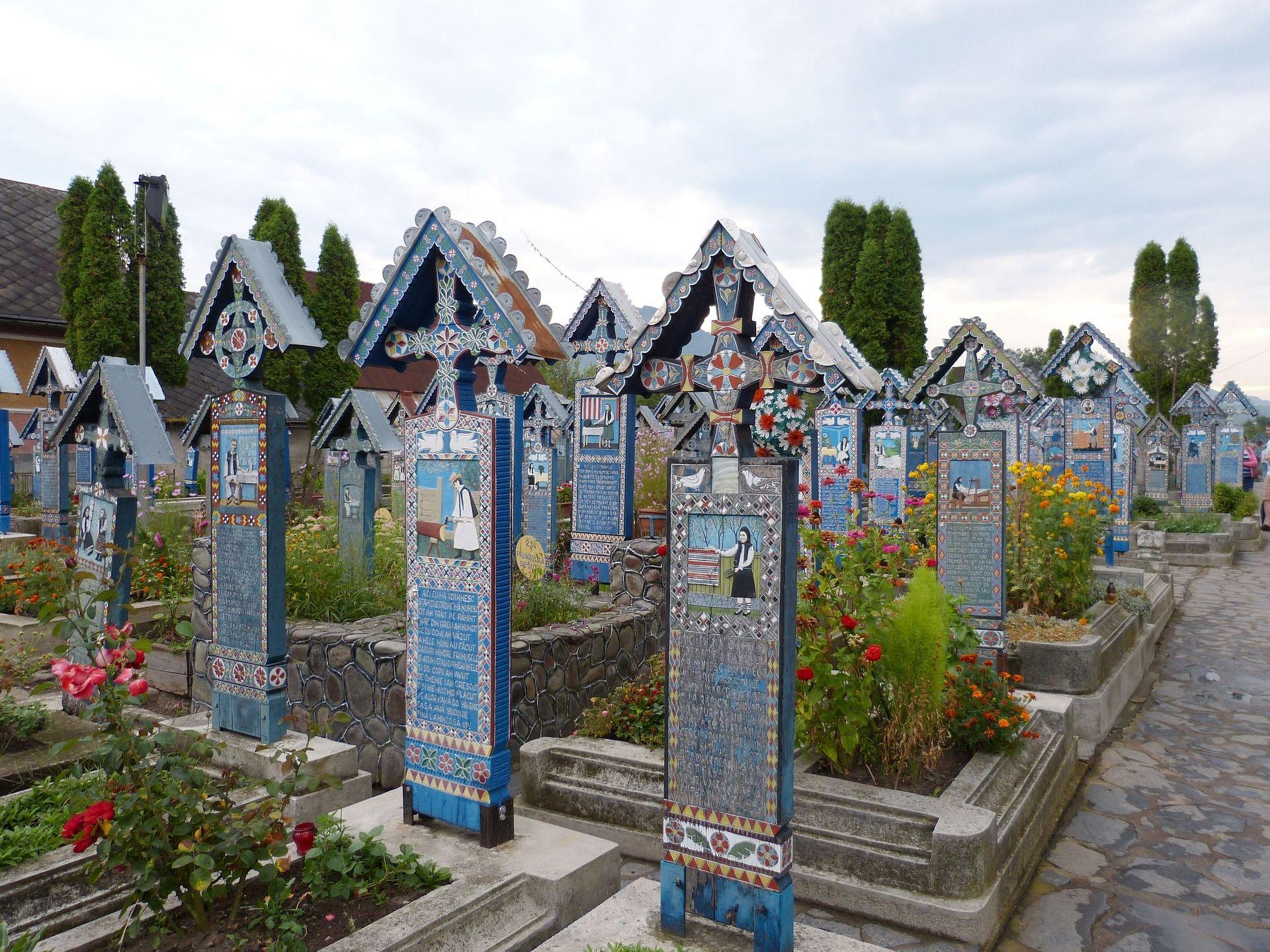 Cimitirul Vesel, Maramureș (Sursă foto: pixabay.com)