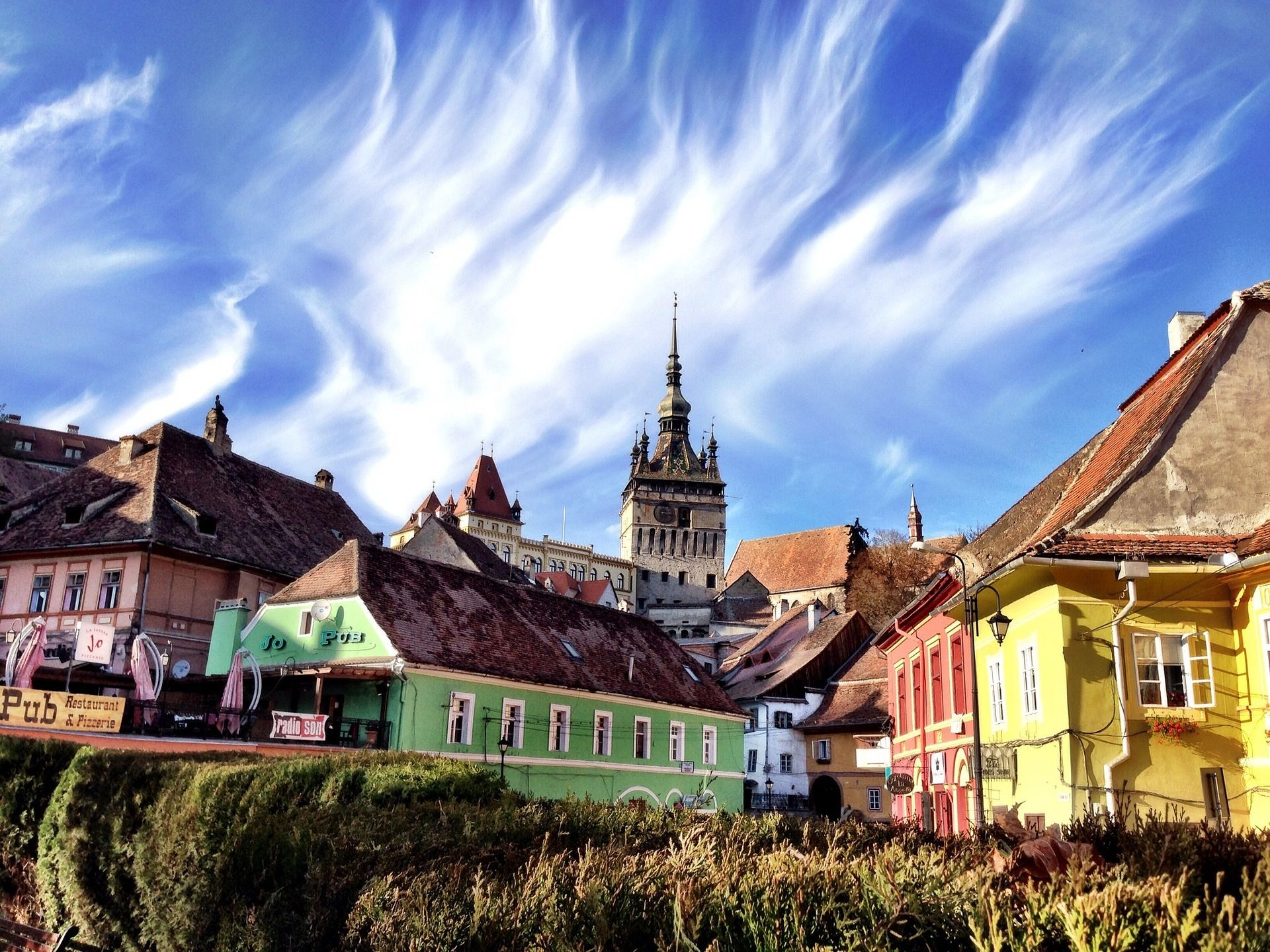 Sighisoara, singura cetate locuita din Europa (Sursă foto: pixabay.com)