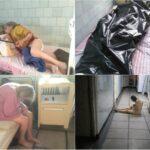 """Imagini cutremurătoare din spitalul groazei din Reșița. """"Bolnavii sunt trataţi ca nişte animale"""""""