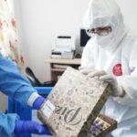 Vaccinurile COVID-19 au ajuns Slobozia în cutii de pizza. Imagini incredibile!