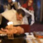 Imagini de la botezul bebelușului mort din Suceava | VIDEO
