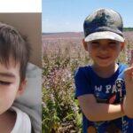 """""""Nu mai avem nici lacrimi"""". Părinții unui copil de 4 ani, diagnosticat cu cancer, cer ajutor pentru a-l putea salva"""