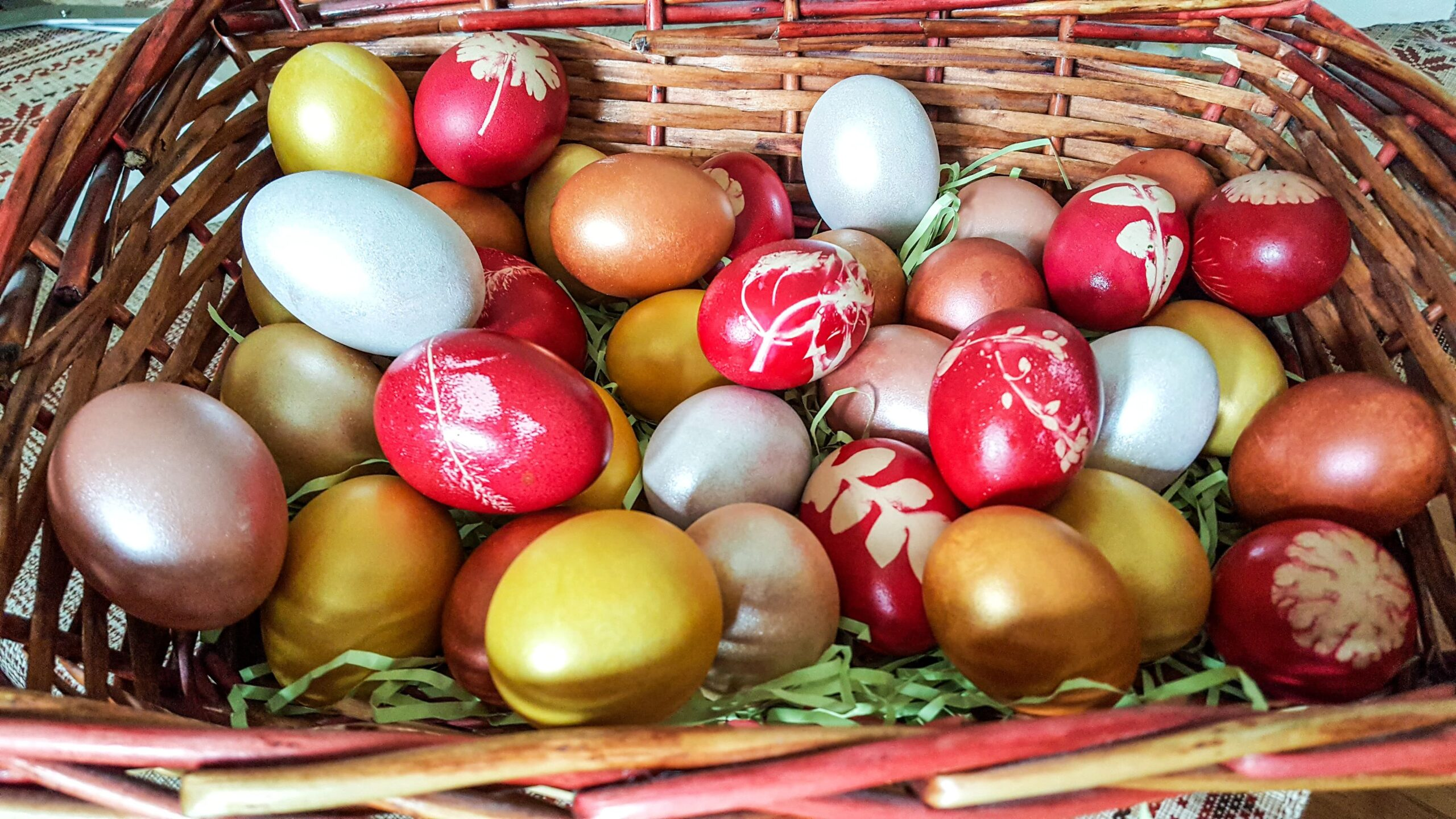 Când se vopsesc ouăle de Paște. Ce spune tradiția