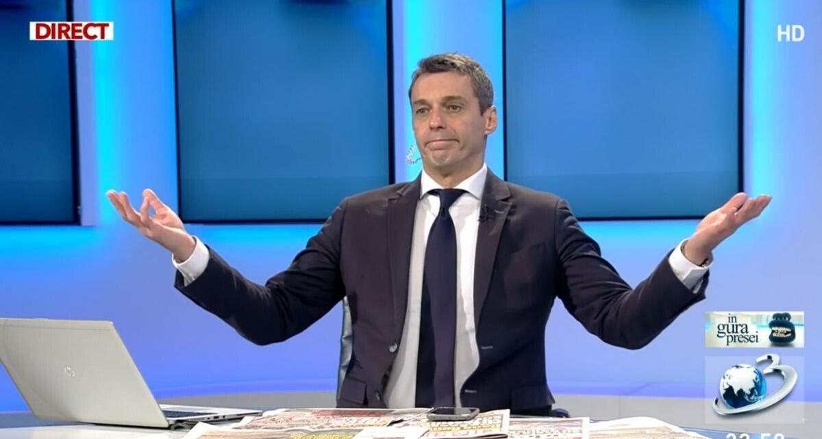 Mircea Badea a fost arestat! A făcut anunțul în direct